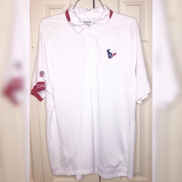 Reebok Other - Reebok Men's L Houston Texans NFL Polo Shirt